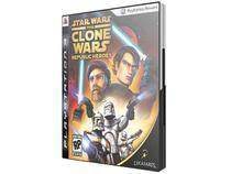 Star Wars The Clone Wars: Republic Heroes p/ PS3 - LucasArts