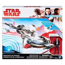 Star Wars Veiculo E Ski Speeder Ep8 Force Classe C - Hasbro -
