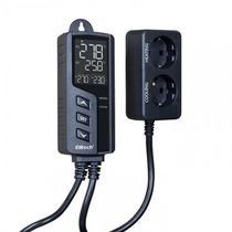 Stc1000pro controlador de temperatura para aquecimento e refrigeração automático 220v 1 sensor 2m - ELITECH