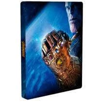 SteelBook Vingadores: Guerra Infinita - Blu-Ray + BluRay 3D - Disney