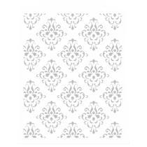 Stencil de Acetato para Pintura OPA Simples 20 x 25 cm - 2452 Estamparia Arabesco I -