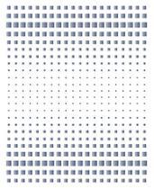Stencil Especial Pintura Estampa Degradê Quadrados 21,1X17,2 STM-610 - Litoarte -