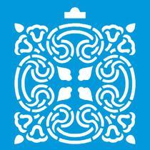 Stencil Litoarte 10x10 STX-005 Arabesco -
