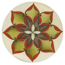 Stencil Litoarte 14x14 STA-089 Flor -