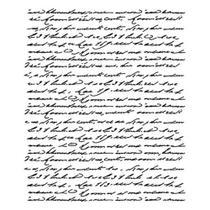 Stencil Litoarte 21,1x17,2 STME-002 Manuscrito -