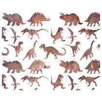 Stencil Litoarte 25x20 STR-111 Dinossauros -