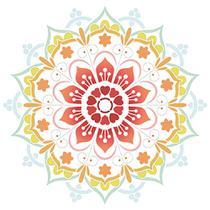 Stencil Litoarte 30x30 STQG-023 Mandala -