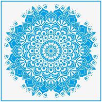 Stencil litoarte 30x30 - stqg-029 mandala -