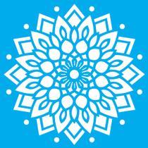 Stencil Litocart 30x30 LSPG-032 Mandala Ornamental -