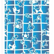 Stencil OPA 20x25 2864 Infantil Estamparia Brinquedos I -