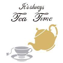 Stencil OPA 30,5x30,5 2303 Tea Time -