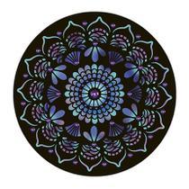 Stencil Pintura Especial Mandala 30X30 STQG-007 - Litoarte -