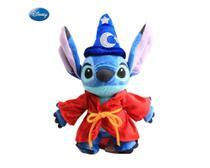 Stitch Bicho de Pelucia Vestido de Mickey Mago 25 cm - Mundo Da Pelúcia