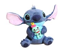 Stitch Com Xepa Scrump Bicho de Pelucia Lilo Disney - Mundo Da Pelúcia