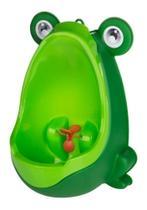 STO218 - Mictorio Pinico Portatil Infantil Sapinho Bebe Troninho Cor:Verde - Top Total
