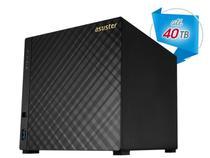 Storage NAS Asustor AS3104T Celeron Dual Core 1,6GHZ 2GB DDR3 Torre 4 Baias -