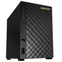 Storage Nas Asustor Com Disco Ironwolf V2 Marvell Dual Core 1,6 GHZ 512MB DDR3 Torre 6TB - AS1002T6000 -