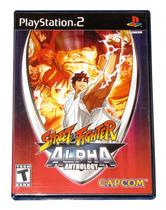Street Fighter Alpha Anthology - Playstation 2 - Capcom