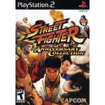 Street fighter anniversary collection - ps2 - Sony