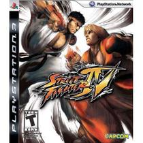 Street Fighter IV (4) - PS3 - Sony