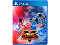 Street Fighter V Champion Edition para PS4 Capcom - Edição dos Campeões - Playstation 4