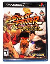 Street figther anniversary collection - ps2 - Capcom