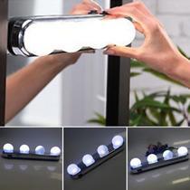 Studio Glow Luz De Espelho Camarim Led 4 Lampadas Portátil - B2T