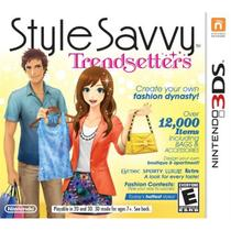 Style savvy: trendsetters - 3ds - Nintendo