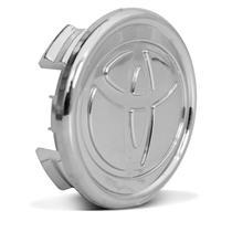 Sub Calota Centro Miolo de Roda Corolla 2008 a 2016 4 Furos 55mm Cromado - Emblemax