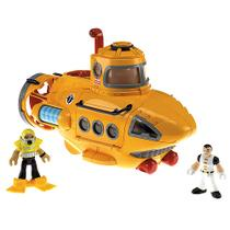 Submarino Aventura Imaginext Fisher Price N8270 Mattel - Fisher-price