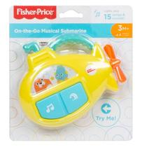 Submarino Musical On-the-Go Fisher Price- FXC02 - MATTEL