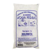Substrato Dolomita para Aquários e Jardins Decoração N2 1kg - Aqua Pedras