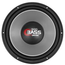 Subwoofer 7Driver Taramps 300 Bass 12 Polegadas 4 Ohms Cinza - 7driver by taramps