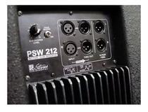 Subwoofer Ativo Staner Psw-212 220 Watts 12 Polegadas -