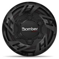 """Subwoofer Bomber Carbon 12"""" 250W RMS 4 Ohms Bobina Simples Grade Removível -"""