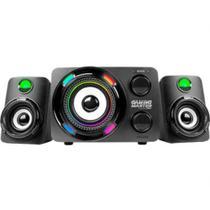 Subwoofer Gamer K-Mex SS-9800 LED Multicolor 2.1 Stereo -