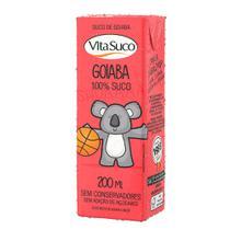 Suco Natural - 200ml (Kids) - Goiaba - Vita Suco - Cx 27un -