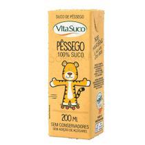 Suco Natural - 200ml (Kids) - Pêssego - Vita Suco - Cx 27un -