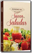 Sucos e saladas - colecao essencial ler e aprender - Hunter books -