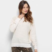 Suéter Tricot Facinelli Lurex Feminino -