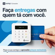 SumUp Top A Maquininha de Cartão Sem Aluguel Débito e Crédito+Capinha de brinde -