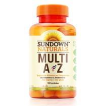 Sundown Multivitaminico Multi A-Z C/120 -