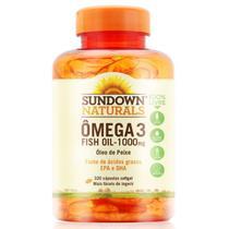 Sundown Omega 3 Fish Oil 1000Mg Com 320 -