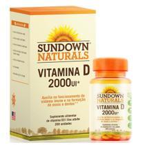 Sundown vitamina d 2000iu c/200 - Sundown Vitaminas