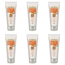 Sunless Fps50 Protetor Facial Base Bronze 60g (Kit C/06) -