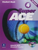 Super Ace 4 - Student Book + Reader + VCD - Longman