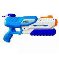 Super Arminha de Água Lançador de Agua 29cm 500ml Azul - Dm Toys