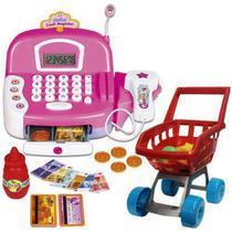 Super Caixa registradora Princesas Mágicas  com som e Luz e Acessórios - Zoop Toys -