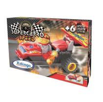 Super Carro Speed Blocos de Montar Xalingo -