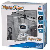 Super Flyer Robo Com Controle Remoto Braskit -